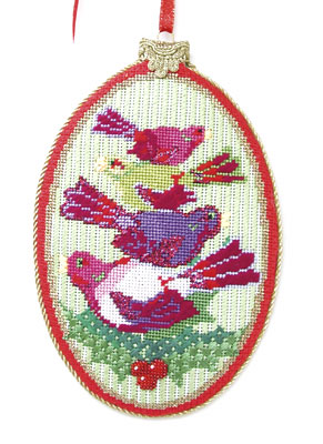 Four Calling Birds Ornament