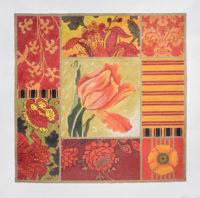 Red Tulip Collage