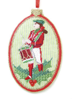 Twelve Drummers Drumming Ornament