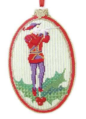 Eleven Pipers Piping Ornament
