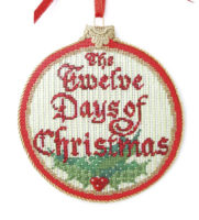 Twelve Days of Christmas Ornament