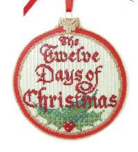 Twelve Days of Christmas Ornament