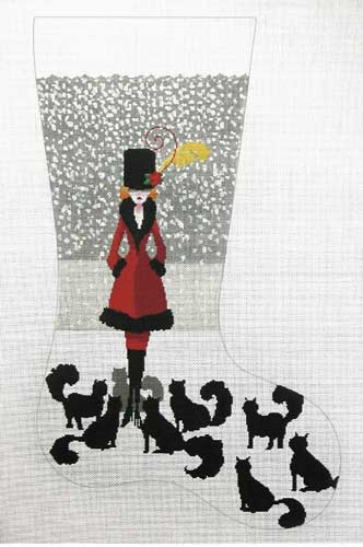 Cat Lady Stocking