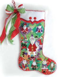 Believe in Santa Stocking