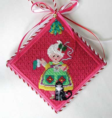 Mrs. Santa Ornament