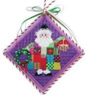 Quilted Santa Ornament