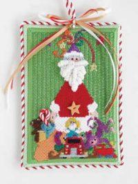 Santa wiith Toys Ornament
