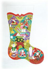 Santa Delivery Stocking