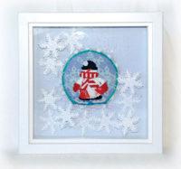 Snowman on Ice Skates