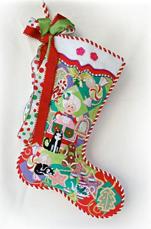 Mrs. Santa Stocking