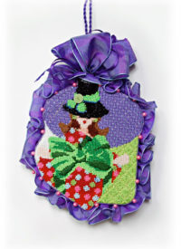 Hat Lady Dotted Box