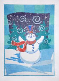 Swirling Snowman