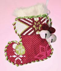 Sassy Snowflake Sock