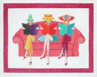 Three Ladies on a Sofa