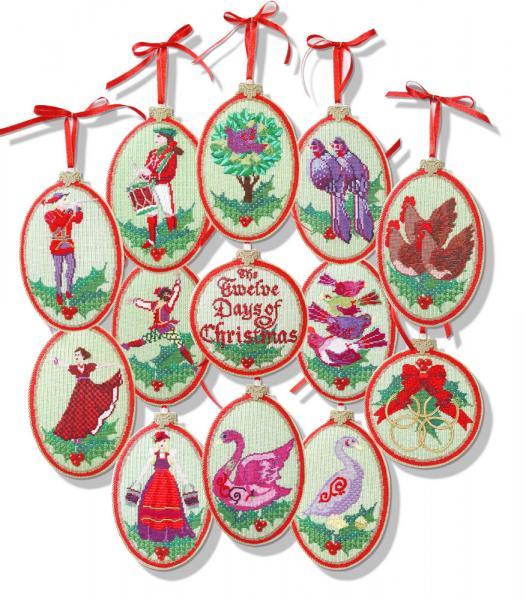 Twelve Days Of Christmas Ornaments.12 Days Of Christmas Club