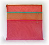 Triple Zip Bag 18 x 18