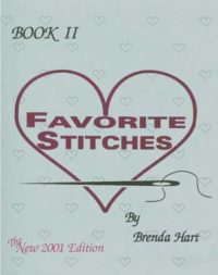 Favorite Stitches II by Brenda Hart