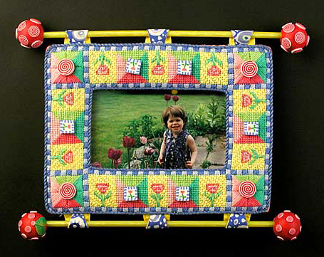 Flower Garden Picture Frame