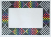 Rainbow Check Frame