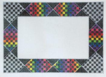 Rainbow Check Frame