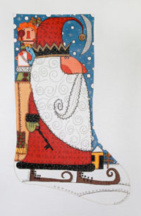 The Key to Christmas Stocking