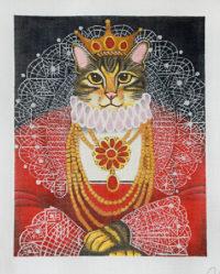 Queen Elizabeth Cat