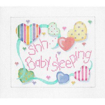 Shh Baby Sleeping Hearts