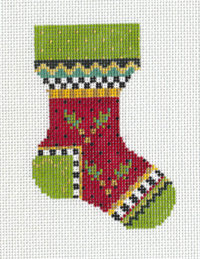 Red Holly Sock