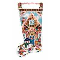 Candy House Stocking