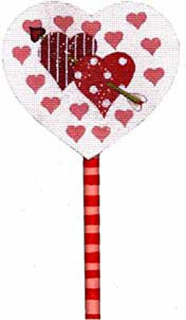 Cupids Heart Lollipop