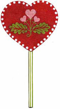 Hearts and Flowers Lollipop