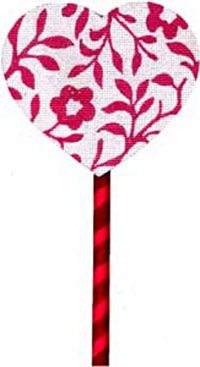 Pink Vines Lollipop