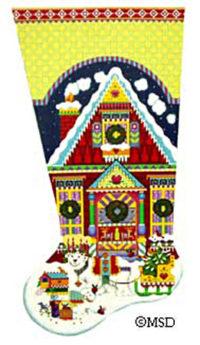 Nordic House Stocking