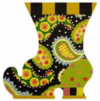 Paisley Witch Boot