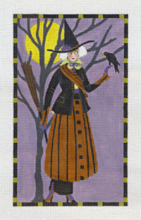 Witch with Crow