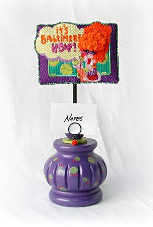 Baltimore Hon Ornament