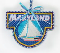 Maryland Skipjack Ornament