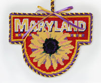 Maryland Black Eyed Susan Ornament