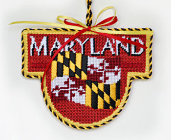 Maryland Flag Ornament
