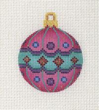 Pink Ball Ornament