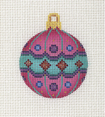 Pink Ball Ornament