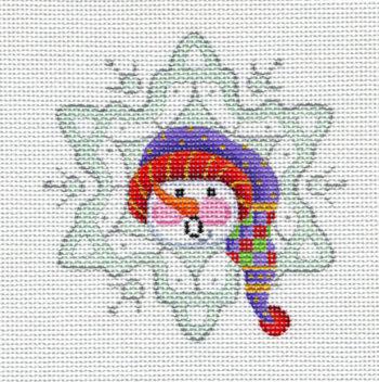 Snowflake Snowmman