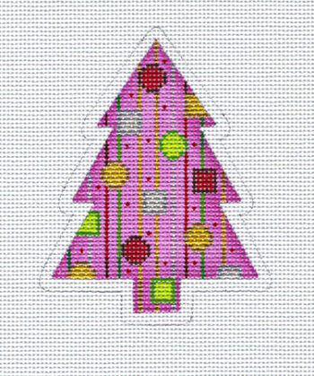 Pink Stripe Tree