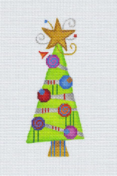 Wonky Tree with Circles