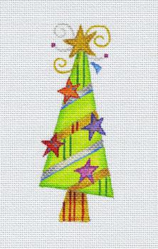 Wonky Tree with Stars