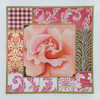 Pink Rose Collage Small