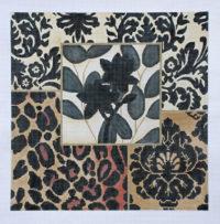 Black Ecru Floral