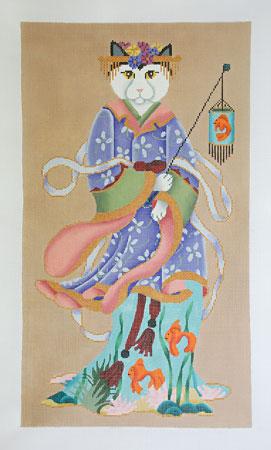 Cat in Kimono