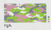 Pink Green Camo