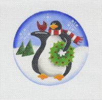 Wreath penguin